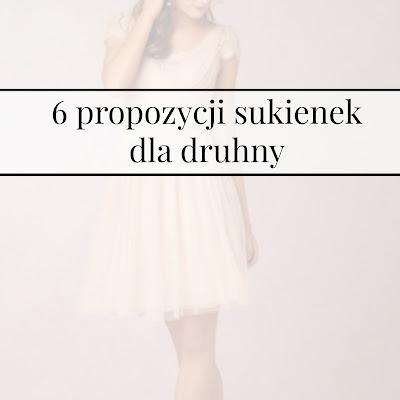 6 propozycji sukienek dla druhny
