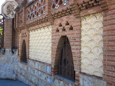 Pabellons Güell in Barcelona designed by Gaudí