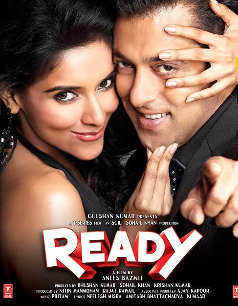 Salman Asin In New Ready Movie Poster - Salman Asin In New Ready Movie Poster