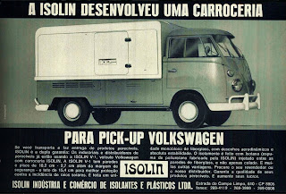 propaganda carrocerias Isolin - 1973