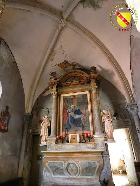 MALAUMONT (55) - L'église paroissiale Saint-Martin