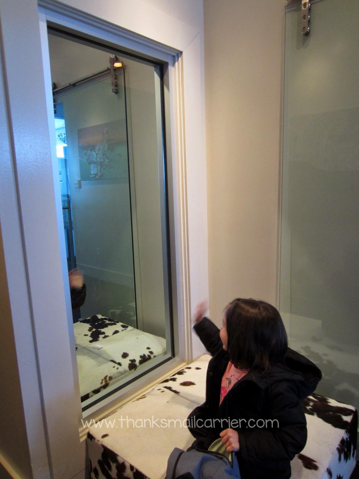 Pearl Bistro mirror