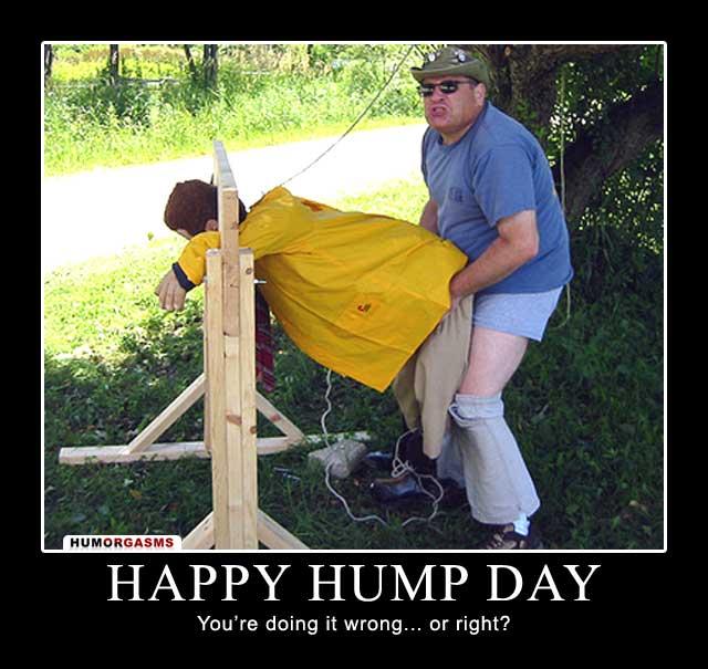 Nasty hump day pics