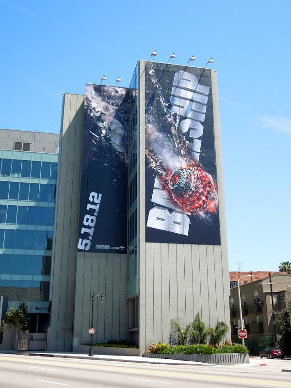 Giant Battleship movie billboard