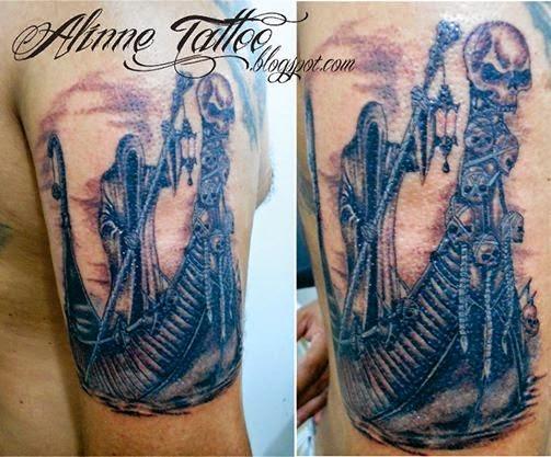 Caronte Tatuagem