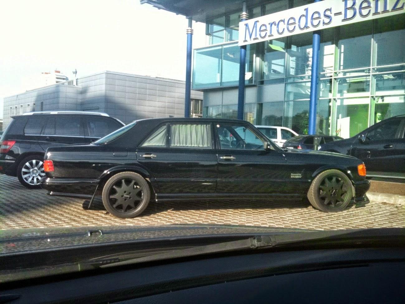 Mercedes benz 560sel w126 brabus benztuning for Mercedes benz roseville ca