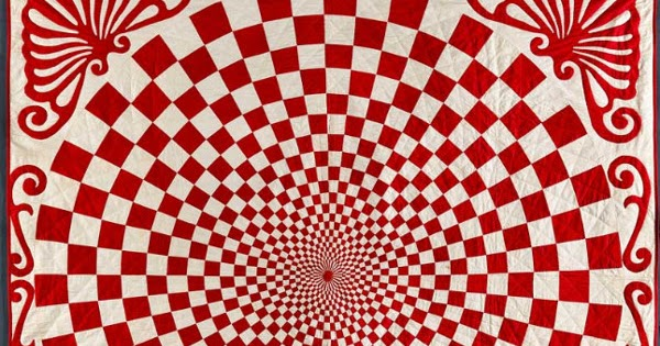 D E C E P T O L O G Y The 100 Year Old Optical Illusion Quilt
