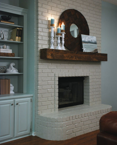 painted fireplaces inspirations days of chalk and chocolate