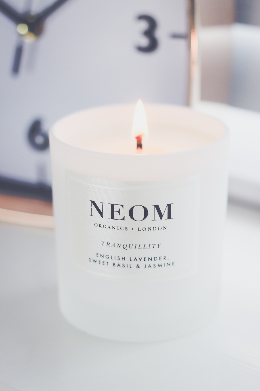 Neom Lavander Candle Review