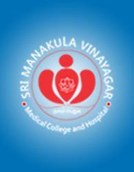Sri Manakula Vinayagr Medical College and Hospital logo
