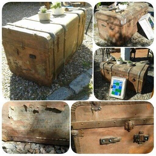 Querida claudina muebles antiguos ba les y maletas - Restaurar baules antiguos ...