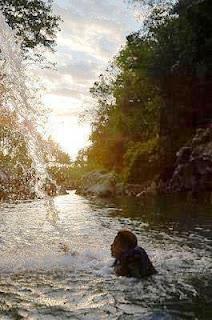 Foto Senja Sungai Oyo