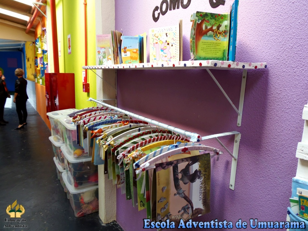 decoracao sala de leitura na escola: questão.: Ideias para o Cantinho da Leitura na Educação Infantil