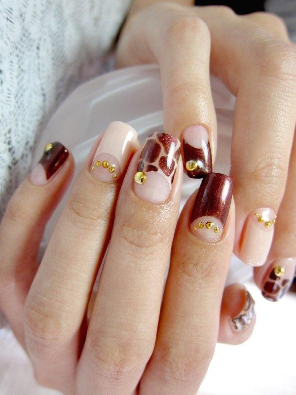 nail art nail Desenhos De Unhas Tendencias 2014