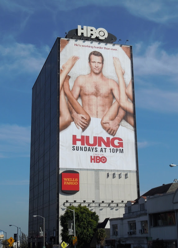 Giant Hung season 3 TV billboard