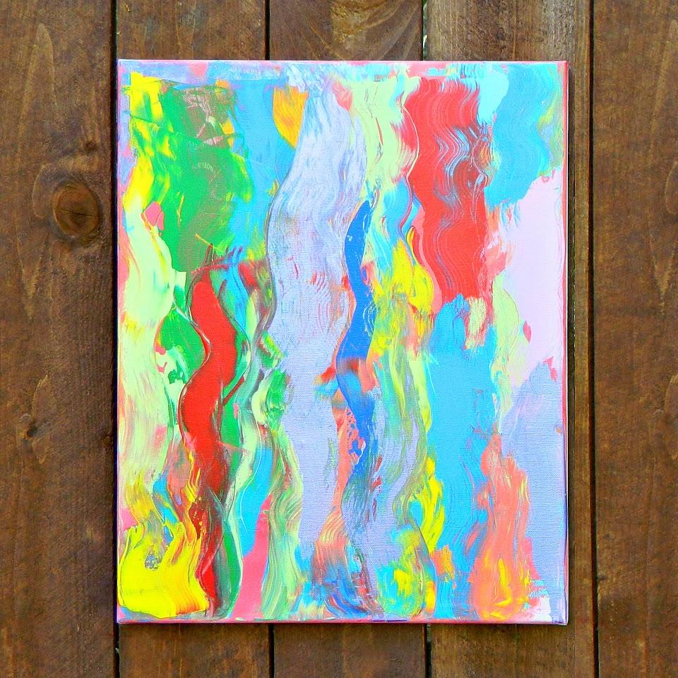 Mark montano abstract art diy for Diy watercolor abstract art