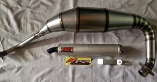 Berikut Beberapa Pilihan Dan Harga Knalpot Aftermarket Kawasaki Ninja 150 RR Dan Ninja RR