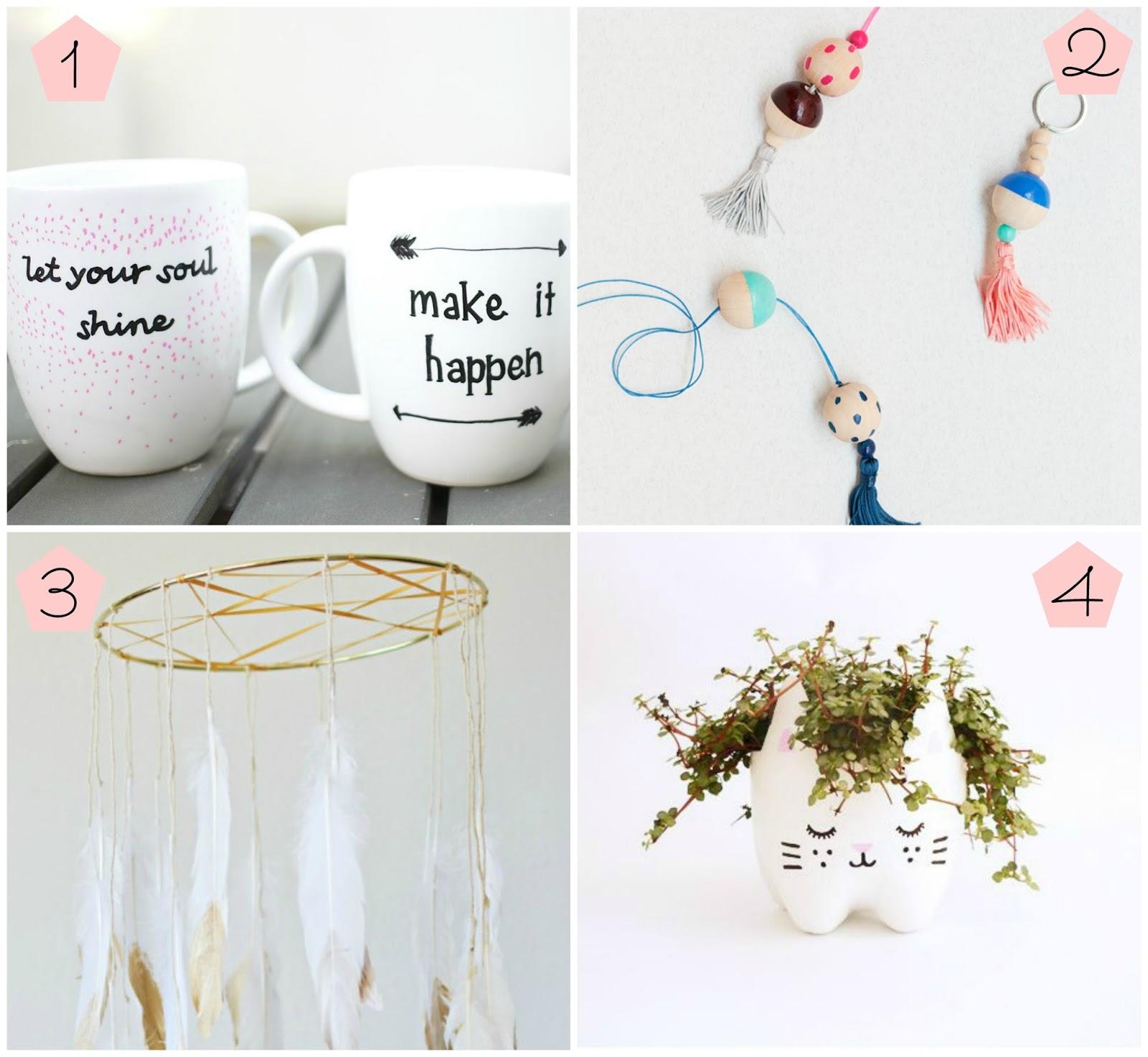 You make me jolly diy 8 regalos handmade para regalar a - Manualidades para un amigo invisible ...