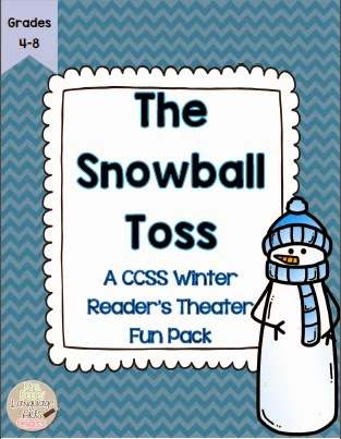 http://www.teacherspayteachers.com/Product/Readers-Theater-The-Snowball-Toss-CCSS-Fun-Pack-for-Grades-4-8-1071812