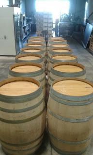 14 French Oak used wine barrels