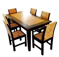 set meja makan koin