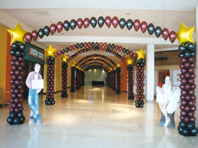 example wedding decoration: Balloon Wedding Decorations