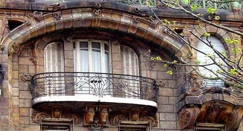 Balcony grill design ideas freshnist design for Terrace exterior design