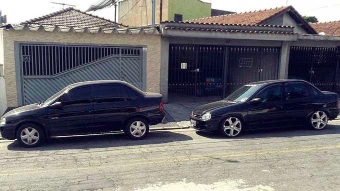 """Corsa Sedan Rebaixado Rodas 17"""""""