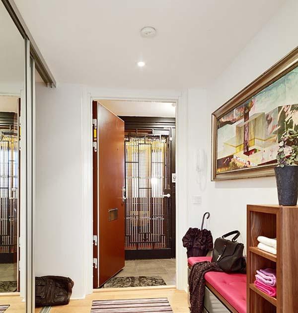 Dise o de interiores arquitectura este apartamento Diseno interiores apartamentos pequenos