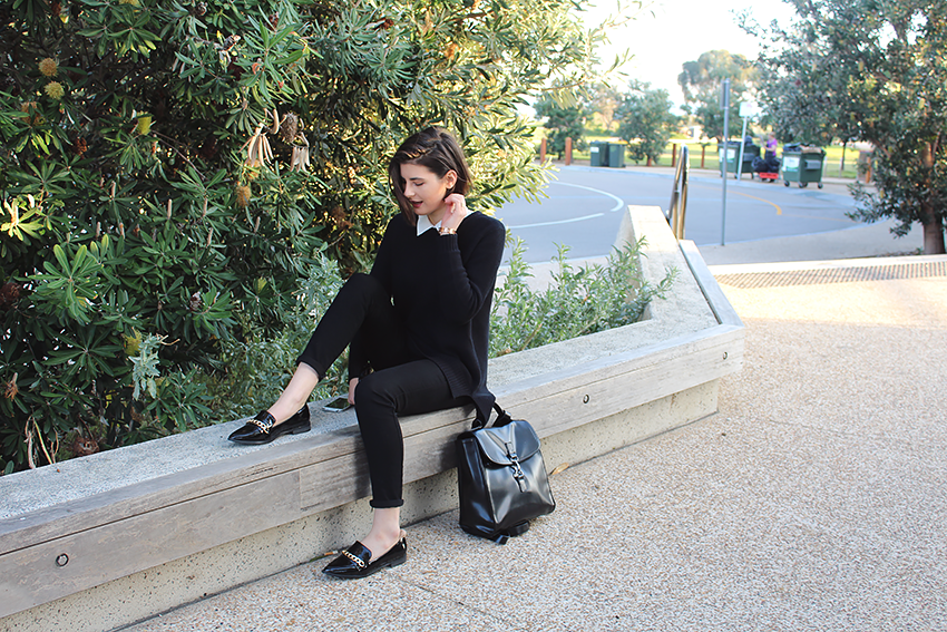 likeaharte, like a harte, ivana, ivana petrovic, australian fashion bloggers, melbourne fashion bloggers, casual friday outfits, casual friday outfit ideas,  minimalistic outfits, boohoo bloggers, loafers, how to style loafers