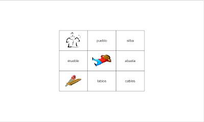 Sílabas trabadas, lectoescritura, Lengua