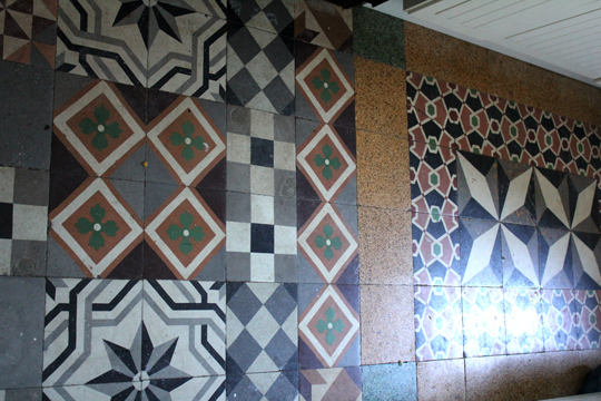 French Antique Tiles