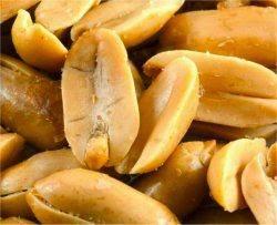 Amendoins torrados causam mais alergia