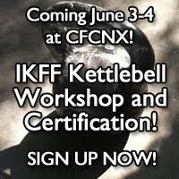 IKFF Kettlebell workshop and certification
