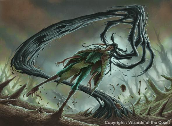Dave Allsop deviantart ilustrações fantasia sombria games magic the gathering