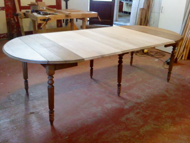 Very nys woodworks uittrekbare tafel for Uittrekbare tafel