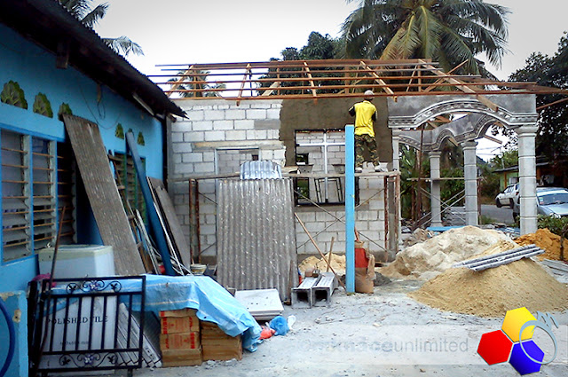 mknace unlimited™ | rapid plastering for new living room