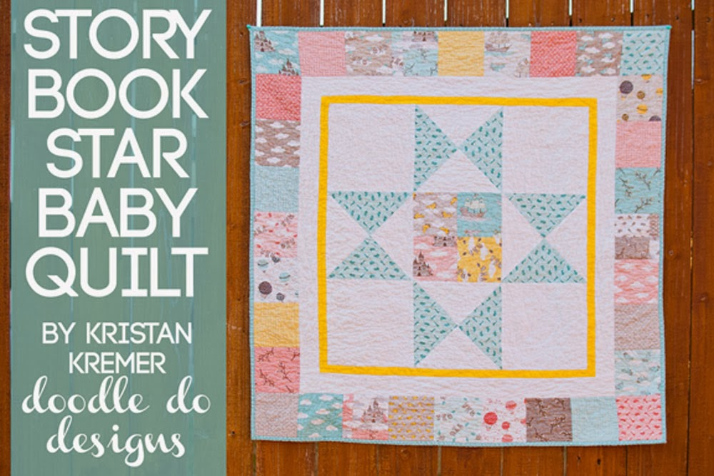 Moda STORYBOOK Fabric free quilt pattern