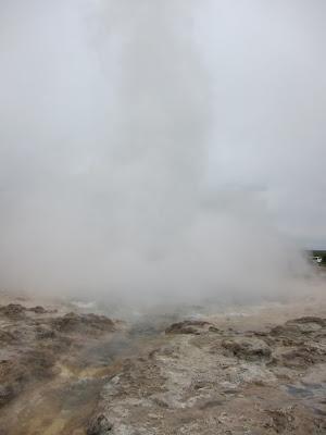 Strokkur Geiser Erupting, Iceland
