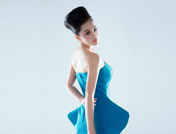 Girls Beauty Wallpaper Zhang Xinyu 14