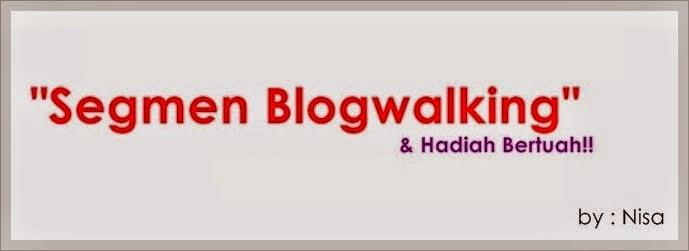 Segmen Blogwalking + Hadiah Bertuah instant shawl magic