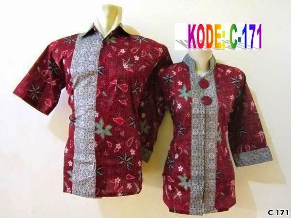 Foto Baju Batik Atasan Couple