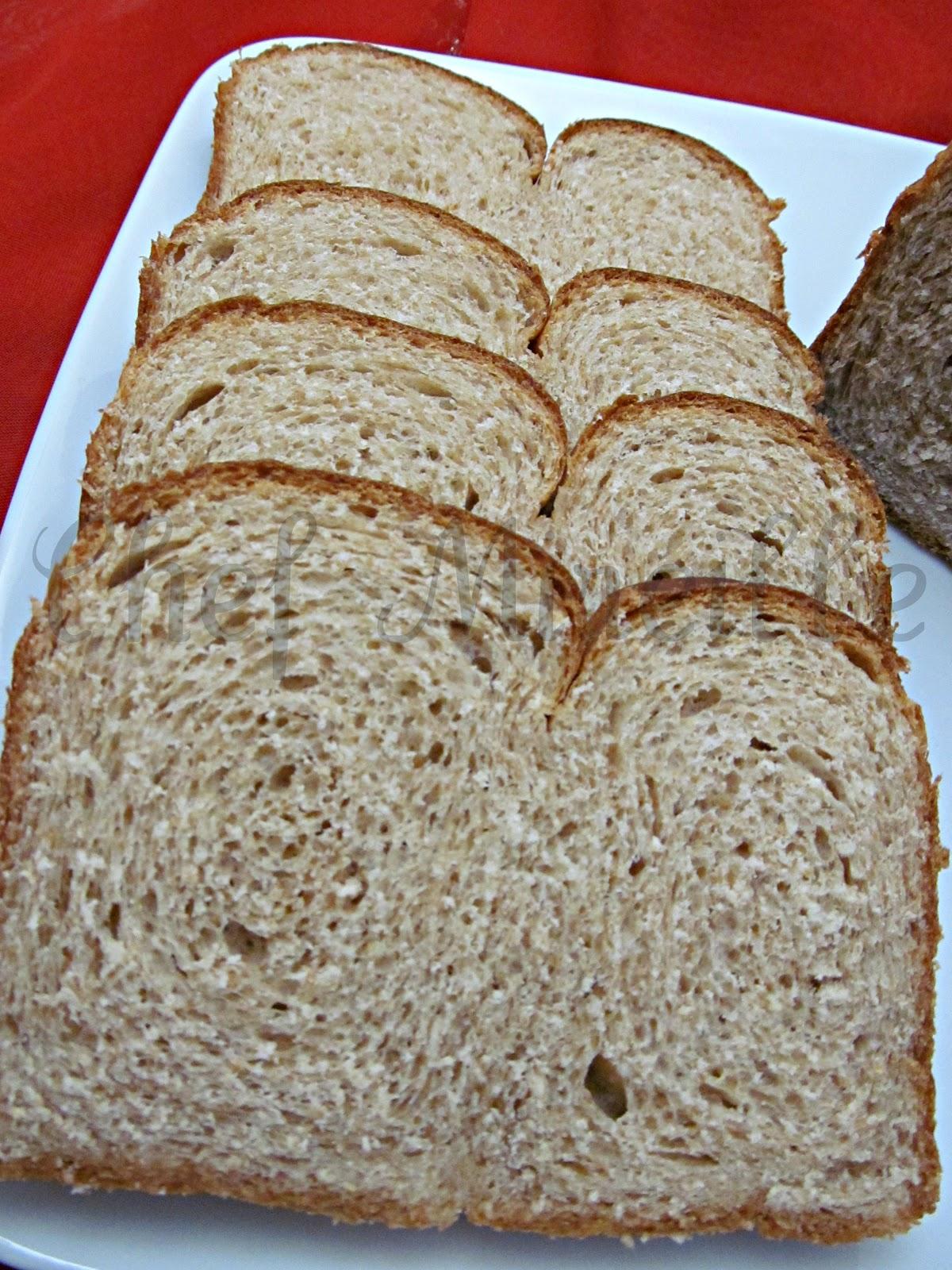Buttermilk Whole Wheat Bread - The Schizo Chef