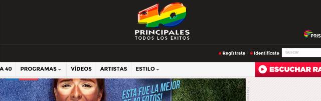 Las más importantes emisoras de radio de Chile - 40 Principales