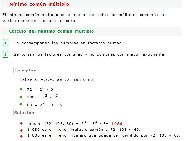MCD y MCM - Ejercicios Resueltos - Razonamiento Matemático « Blog ...