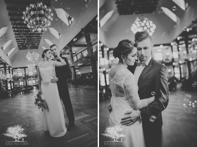 Bańki na ślubie i weselu.