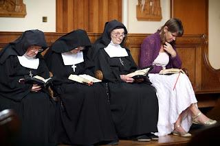 Ruth Gledhill and nuns