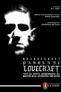 Parola di Lovecraft, 2012, copertina