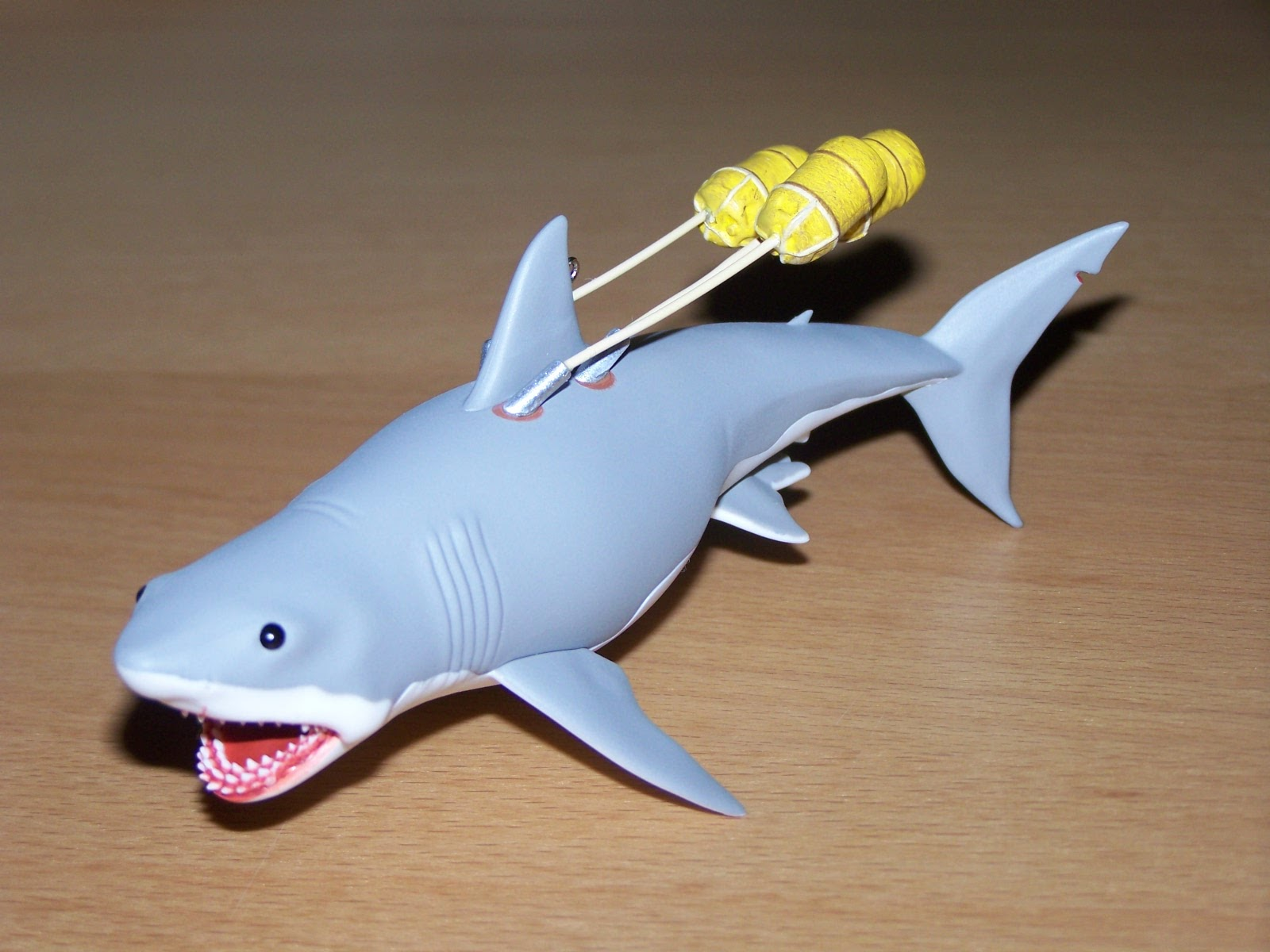 Cool Shark Toys : We re gonna need a bigger christmas tree for hallmark s