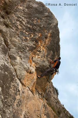 Climbing Malta